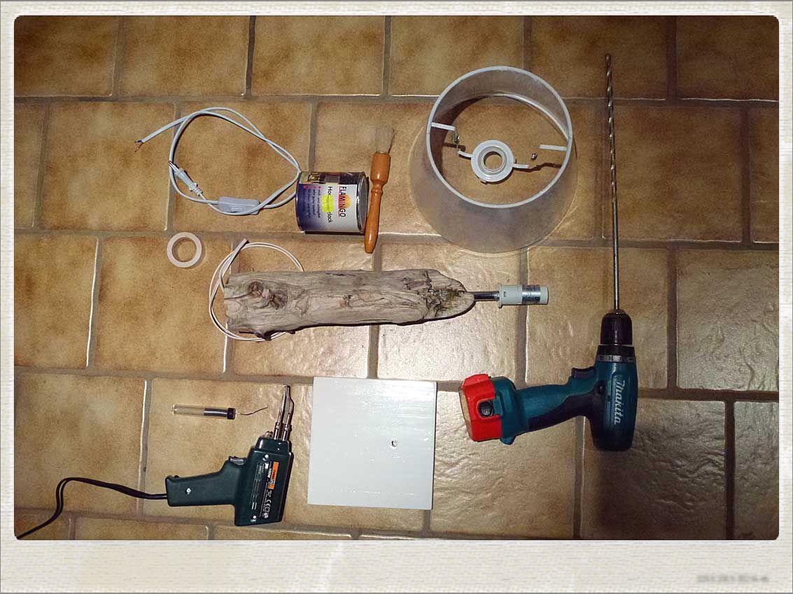 Vorbereitung_Tischlampe