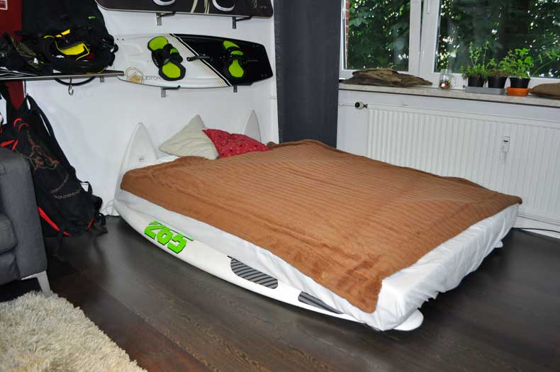 Surfboard-Bett-Upcycling