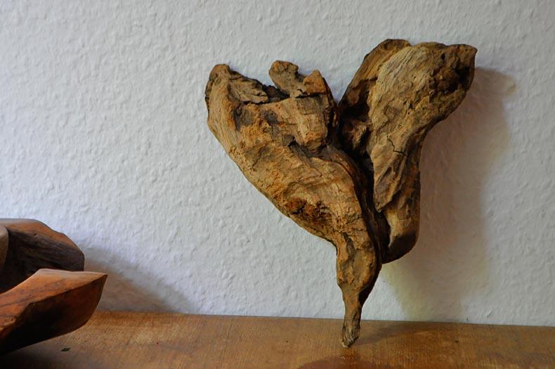 Treibholz-Herz