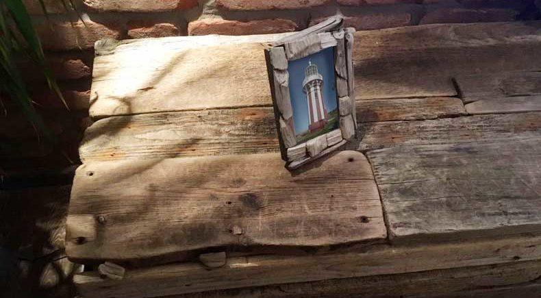 DIY selbstgebaute Kommode aus Treibholz