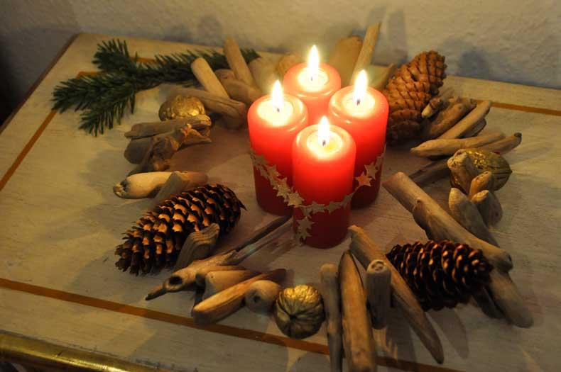 Treibholzeffekt weihnachtsdeko aus treibholz diy special mit rtl treibholzeffekt - Weihnachtsdeko treibholz ...