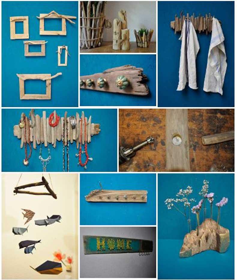Beispiele und Ideen aus Treibholz